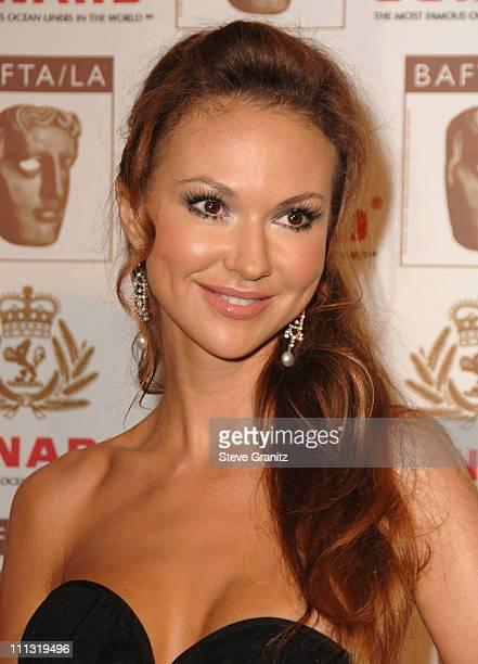 Svetlana Metkina during The 2006 BAFTA/LA Cunard Britannia Awards - Arrivals at Hyatt Regency Century Plaza Hotel in Los Angeles, California, United...
