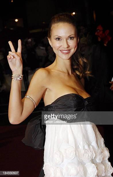 Svetlana Metkina during The Times BFI London Film Festival Bobby Gala Screening Inside at Odeon West End in London Great Britain