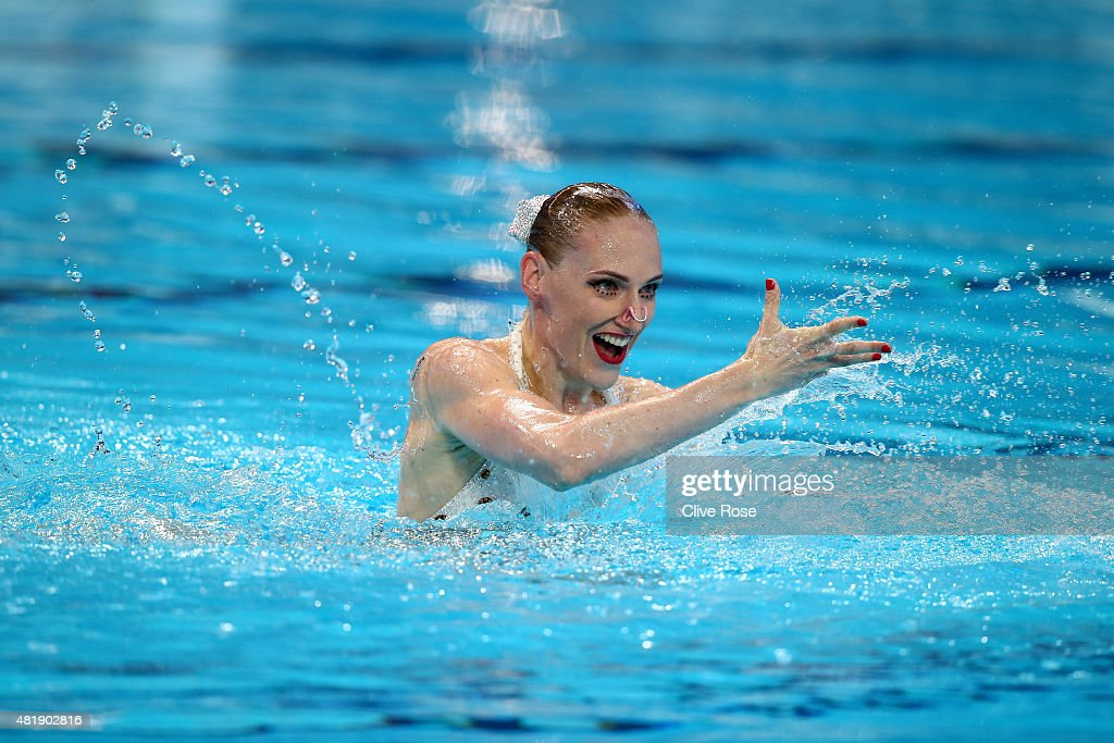 Synchronised Swimming - 16th FINA World Championships: Day One : News Photo