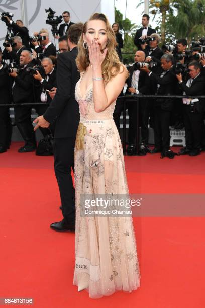 Svetlana Ustinova attends the 'Loveless ' screening during the 70th annual Cannes Film Festival at Palais des Festivals on May 18 2017 in Cannes...