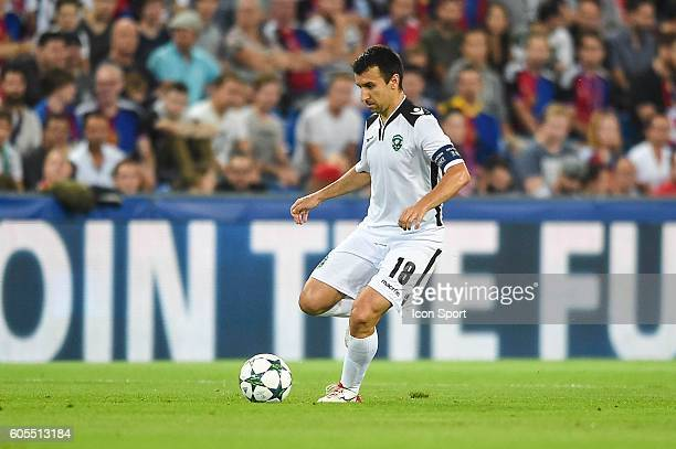 Svetoslav Dyakov of Ludogorets during the Uefa Champions League match between Basel Fc and PFC Ludogorets Razgrad on September 13 2016 in Basel...