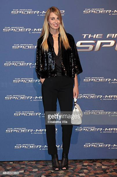 Sveva Alviti attends 'The Amazing Spider-Man 2: Rise Of Electro' Rome Premiere at The Space Moderno Cinema on April 14, 2014 in Rome, Italy.