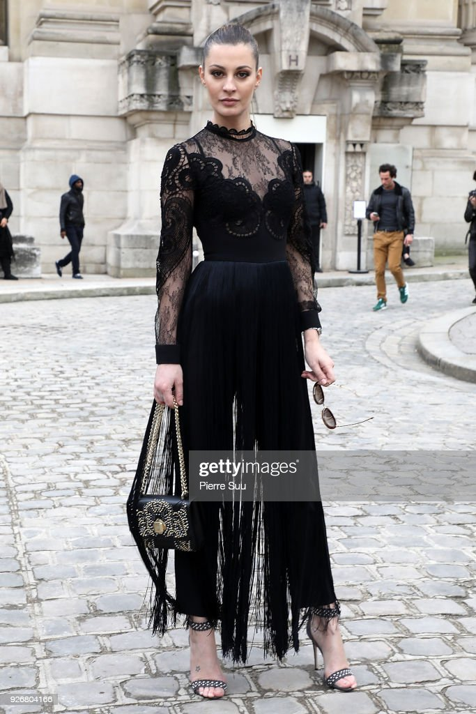 Elie Saab : Outside Arrivals - Paris Fashion Week Womenswear Fall/Winter 2018/2019