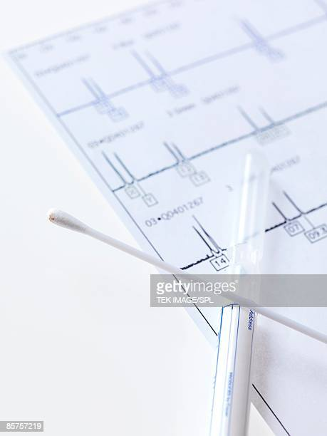 DNA swab sample and tube