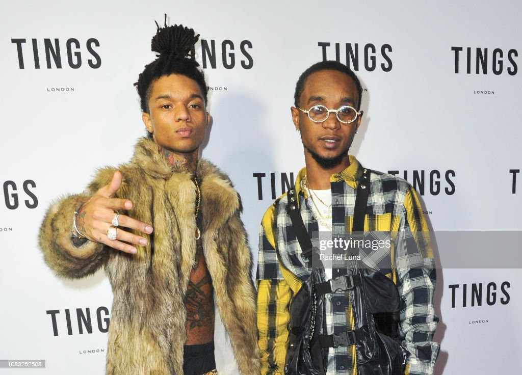 TINGS Magazine Issue 2 Launch Event Hosted By Rae Sremmurd - Arrivals : News Photo