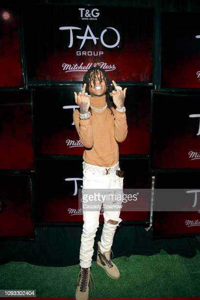 Swae Lee attends TAO Group's Big Game Takeover presented by Tongue Groove on February 2 2019 in Atlanta Georgia