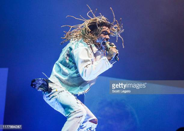 Swae Lee performs during the Runaway Tour at Little Caesars Arena on September 29 2019 in Detroit Michigan