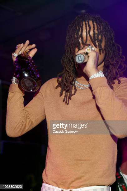 Swae Lee performs onstage during TAO Group's Big Game Takeover presented by Tongue Groove with Remy Martin on February 2 2019 in Atlanta Georgia
