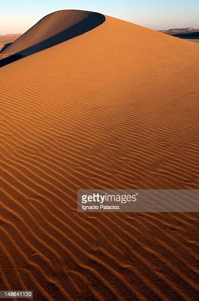swakopmund desert sand dunes. - erongo stock photos and pictures
