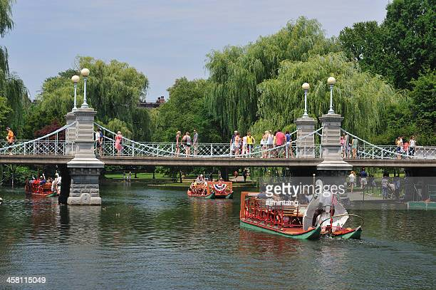 Swan Boat Ride at Boston Common