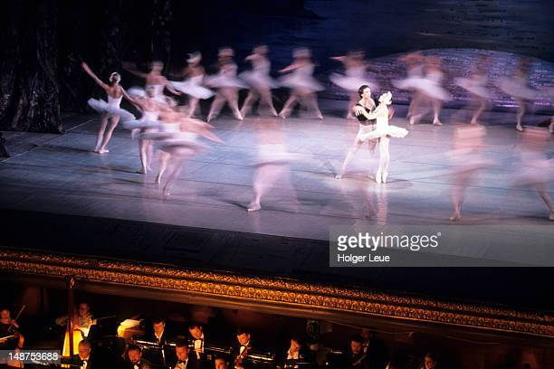 Swan Lake ballet performance at Odessa Opera House