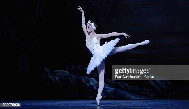 Swan Lake - the English National Ballet's production of the famous ballet by Pyotr Tchaikovsky. Lead Dancers Daria Klimentová 'Odette' and Vadim...