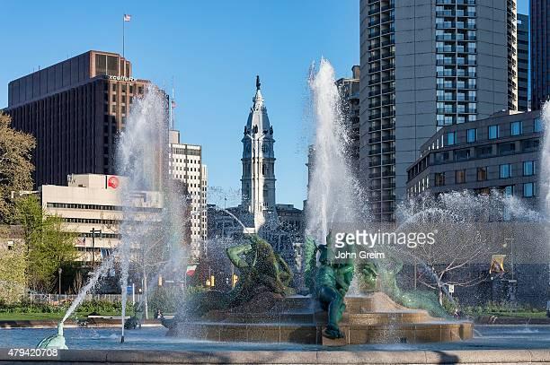 Swann Fountain at Logan's Circle.