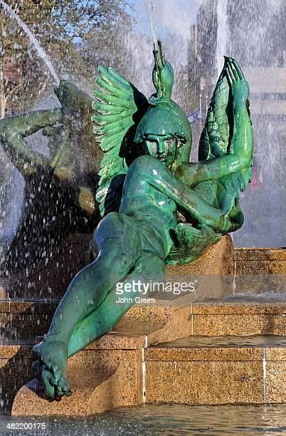 Swann Fountain in Logan's Circle.