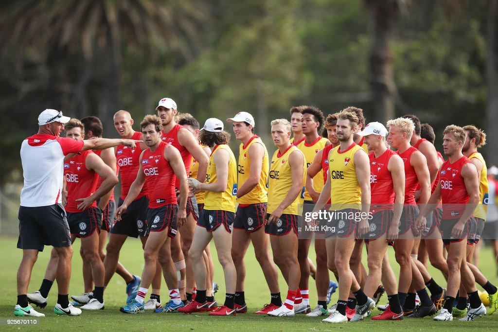 Sydney Swans Training Session : ニュース写真