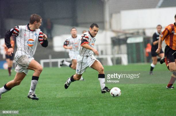 Swansea 2 - 0 Bradford, League Division Two match held at Vetch Field, 7th October 1995.