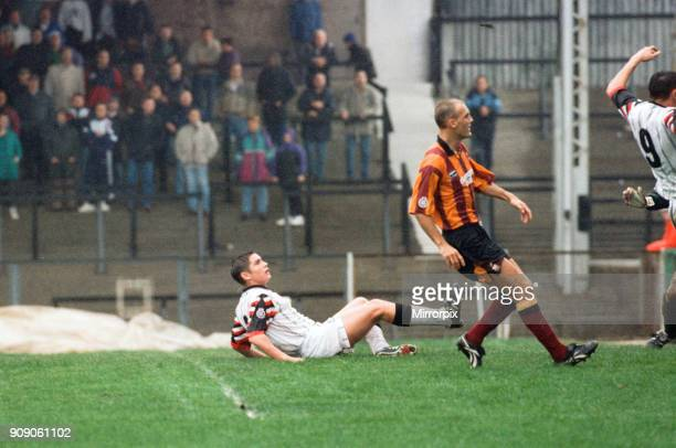 Swansea 2 0 Bradford League Division Two match held at Vetch Field Frank Lampard playing in his first match for Swansea 7th October 1995