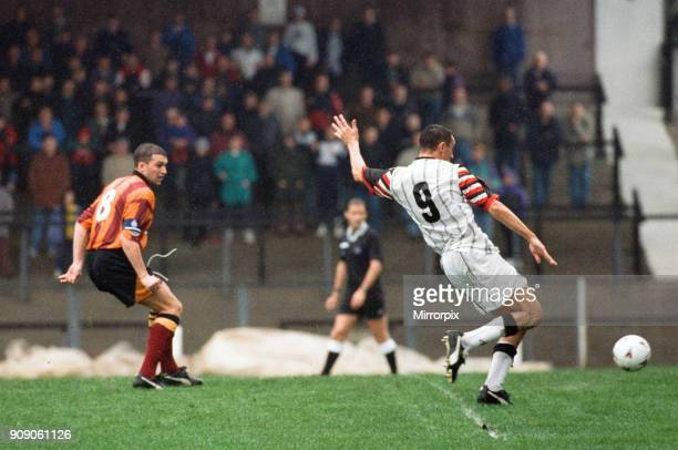 Swansea 2 0 Bradford League Division Two match held at Vetch Field 7th October 1995