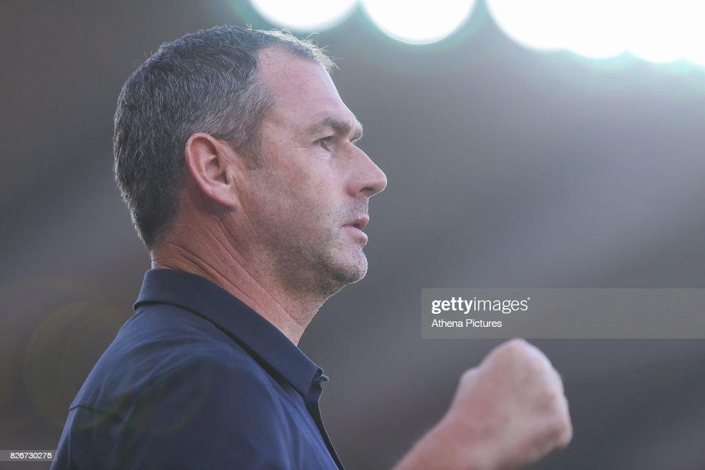 Swansea City v Sampdoria: Pre-Season Friendly : News Photo