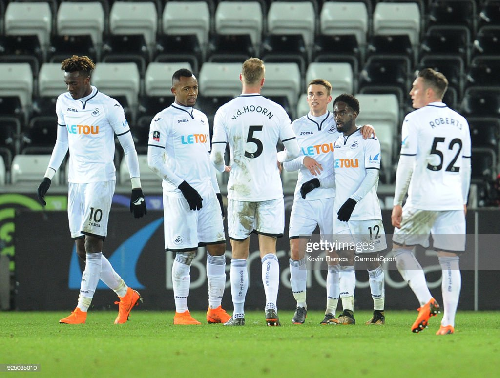 Swansea City v Sheffield Wednesday - The Emirates FA Cup Fifth Round Replay : News Photo