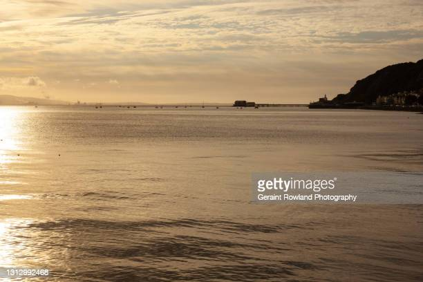 swansea coastline - geraint rowland stock pictures, royalty-free photos & images