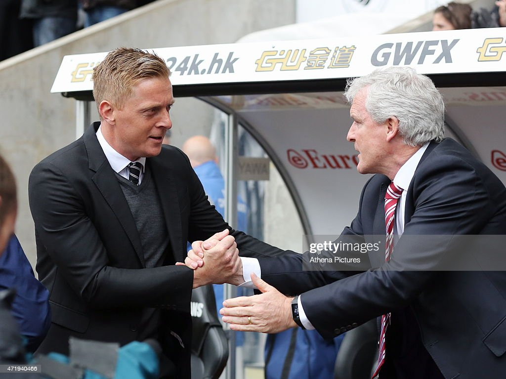 Swansea City v Stoke City - Premier League : News Photo