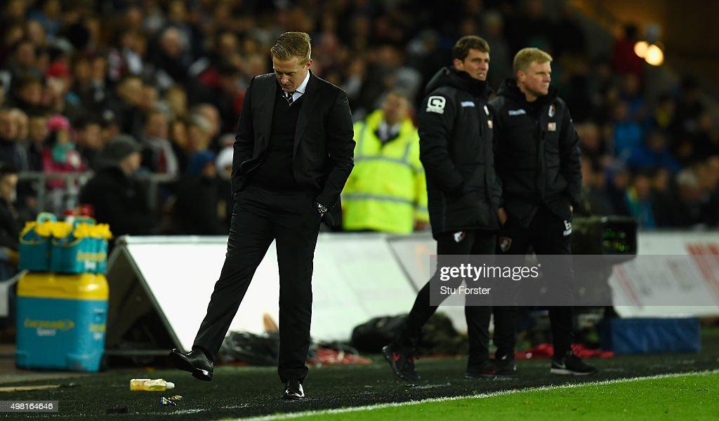 Swansea City v A.F.C. Bournemouth - Premier League : News Photo