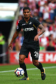 southampton england swanseas kyle naughton during