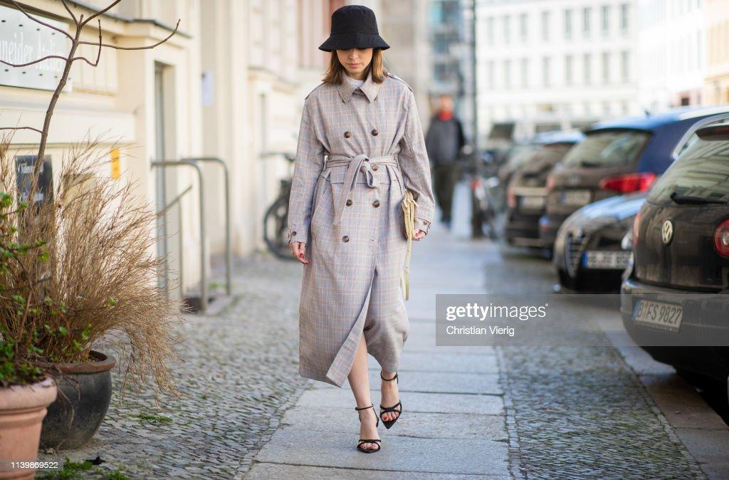 Street Style - Berlin - April 1, 2019 : News Photo