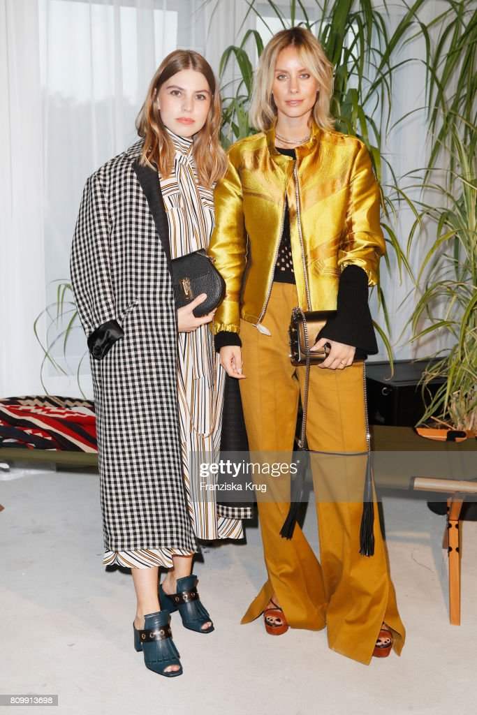 Dorothee Schumacher Arrivals - Mercedes-Benz Fashion Week Berlin Spring/Summer 2018 : News Photo