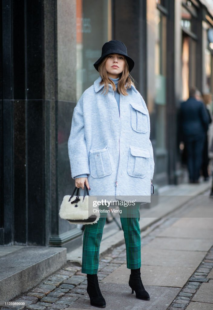 Street Style - Copenhagen Fashion Week Autumn/Winter 2019 : News Photo