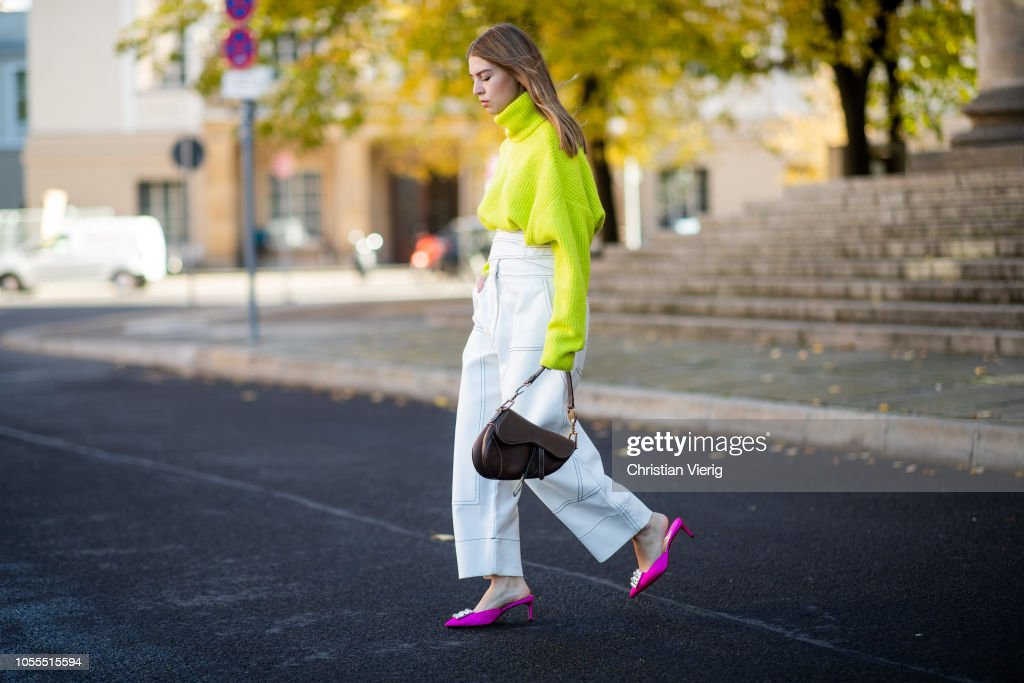 Street Style - Berlin - October 30, 2018 : News Photo