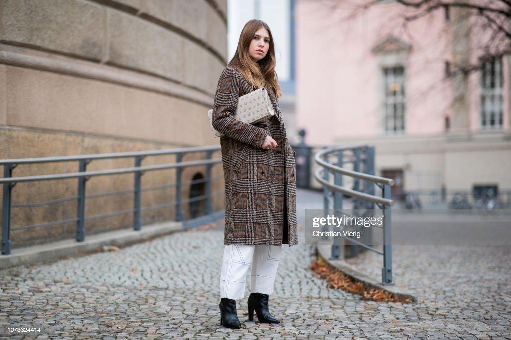 Street Style - Berlin - December 14, 2018 : Foto jornalística