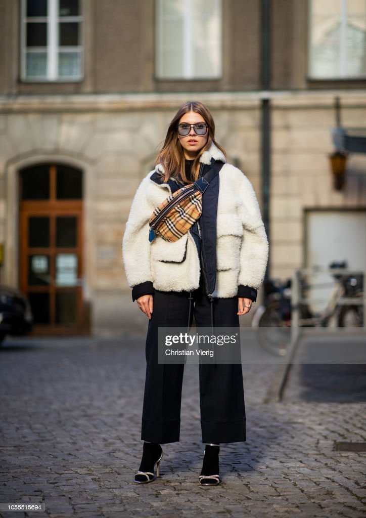 Street Style - Berlin - October 30, 2018 : News Photo