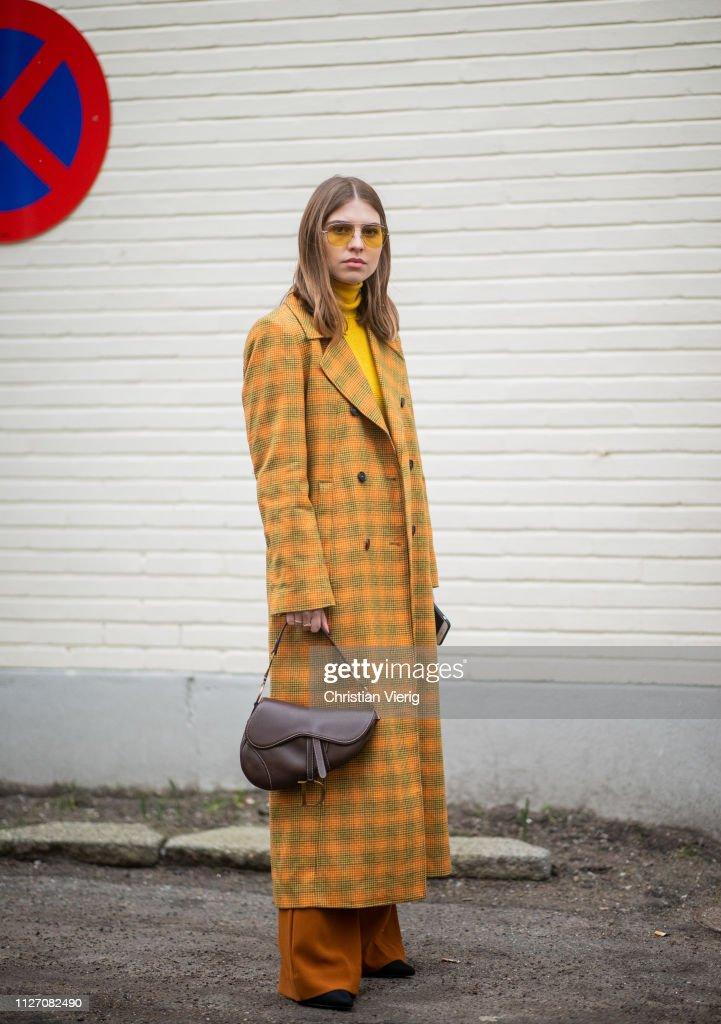 Street Style - Copenhagen Fashion Week Autumn/Winter 2019 : Foto jornalística