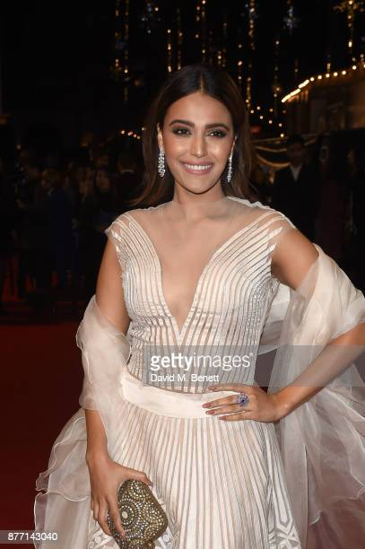 Swara Bhaskar attends the World Premiere of season 2 of Netflix 'The Crown' at Odeon Leicester Square on November 21 2017 in London England