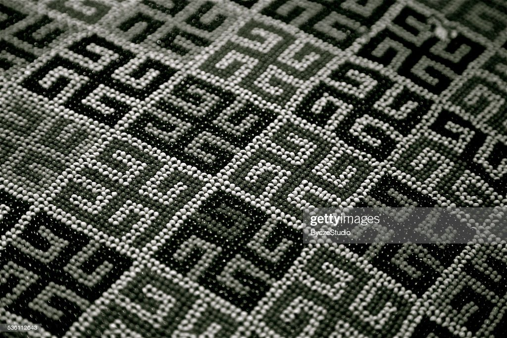 Swastika Symbol Hinduizm Buddhism Hindu Beads Stock Photo Getty Images