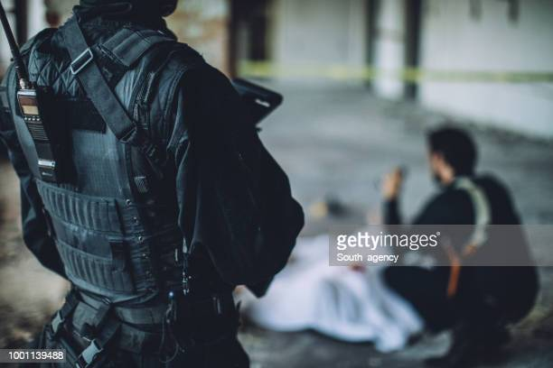 swat team - criminal investigation stock pictures, royalty-free photos & images