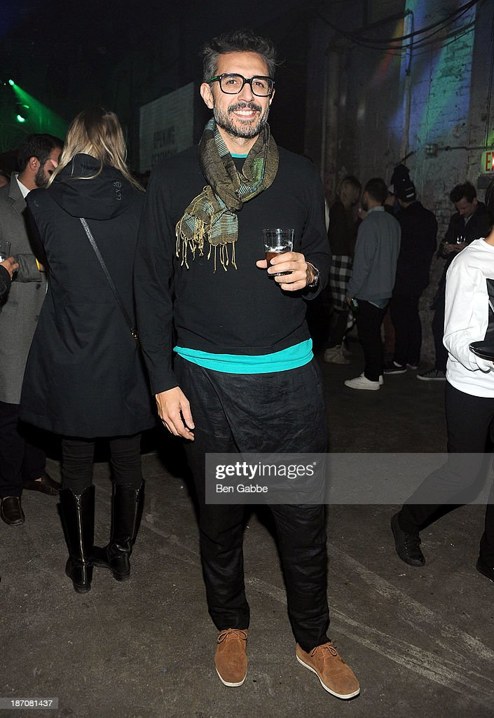 Swatch artist Jose Carlos Casado attends the Soho House Satellite Nights series with M.I.A. on November 5, 2013 in Brooklyn, New York.