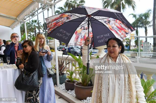 Swati Bhise attends an exclusive Cannes launch celebration of 'Swords Sceptres' at The Carlton on May 10 2018 in Cannes France