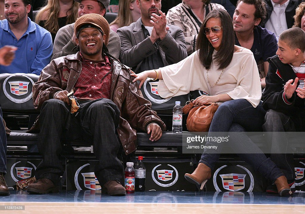 Celebrities Attend Minnesota Timberwolves vs. New York Knicks Game - April 6,