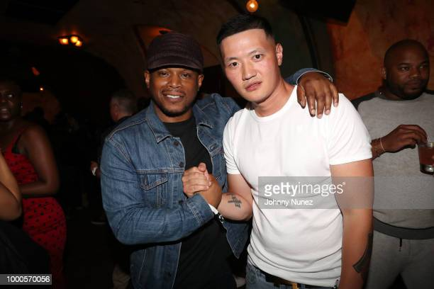 Uncle Murda Joseph Patel Oswin Benjamin Sway Calloway Justin Prager Steve Lobel Fat Joe and Scott Storch attend the 'Still Storch' New York Screening...