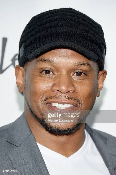 Sway Calloway attends Logo's Trailblazer Honors 2015 at the Cathedral of St John the Divine on June 25 2015 in New York City