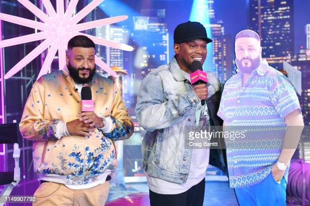 """Sway Calloway interviews DJ Khaled as """"MTV Presents: Khaled Con,"""" a DJ Khaled-hosted fan event in MTV's Times Square Studio, celebrating the release..."""