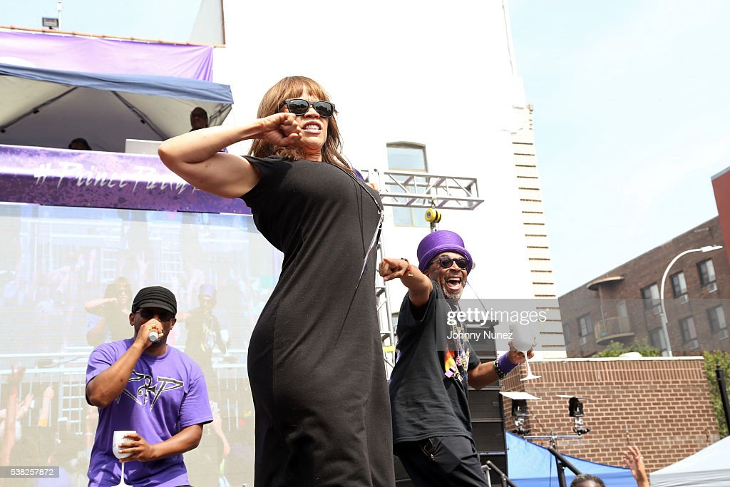 Spike Lee & Sway Host The Prince Born Day Purple People Party : News Photo