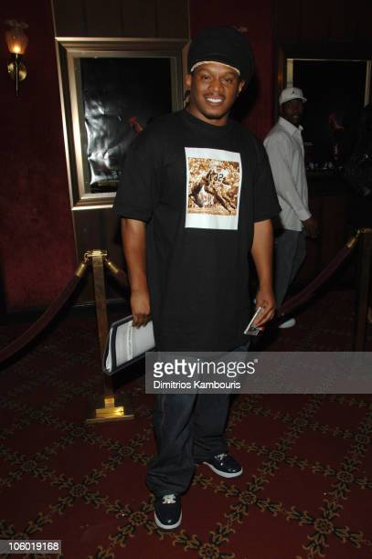 Sway during Idlewild New York Premiere Inside Arrivals at Ziegfeld Theatre in New York City New York United States
