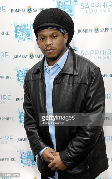 Sway during Opening of Inspired in New York at the Bombay Sapphire Lounge February 11 2007 at Sapphire Lounge in New York City New York United States