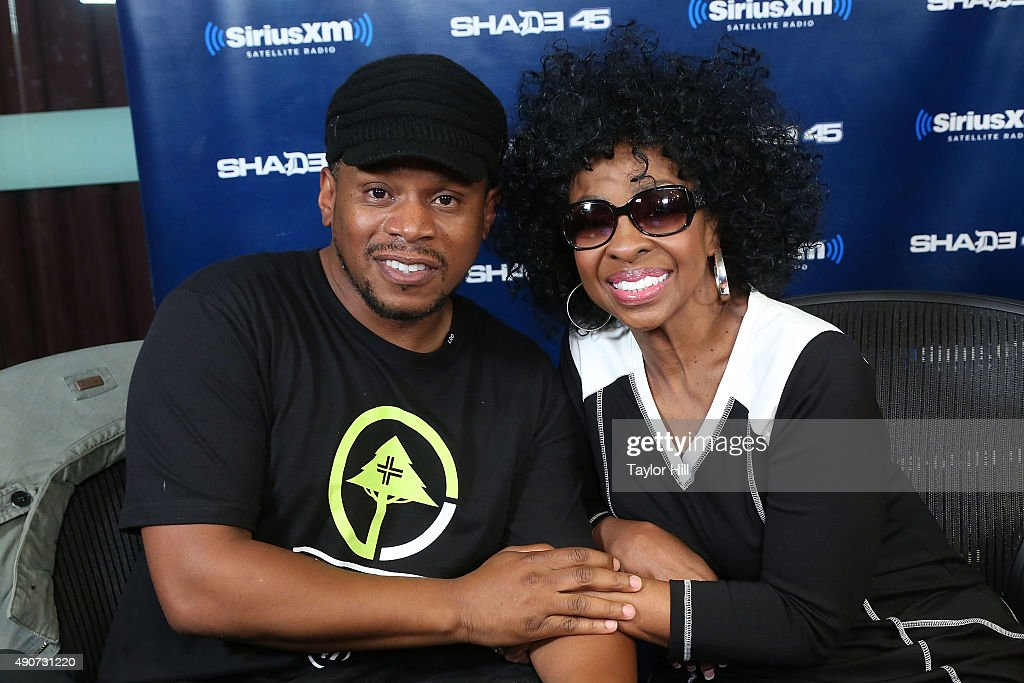 Sway interviews Gladys Knight at SiriusXM Studios on September 30, 2015 in New York City.