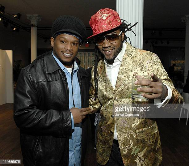 Sway with Coltrane Curtis during Opening of Inspired in New York at the Bombay Sapphire Lounge February 11 2007 at Sapphire Lounge in New York City...