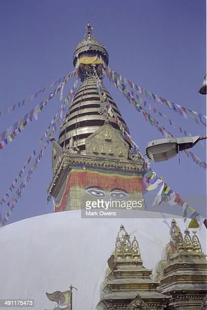 Swayambhunath Monkey Temple in Kathmandu Nepal